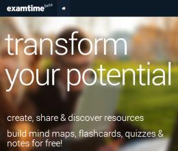 ExamTime. Una piattaforma gratuita per creare mappe, quiz, flashcards,appunti